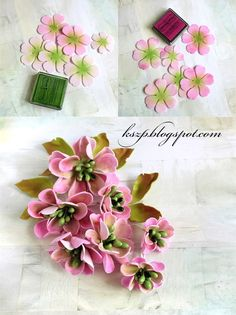 Witajcie :) Oto moja druga w życiu kartka-księga i druga wykonana na bazie z Rapakivi :) Tym razem prostokątna, w tematyce ślubnej. How To Make Paper Flowers, Paper Flowers Diy, Handmade Flowers, Flower Cards, Felt Flowers, Fabric Flowers, Diy Fleur, Paper Flower Tutorial, Polymer Clay Flowers