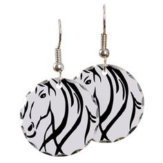 Horse Head Earring C