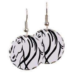 Horse Head Earring C