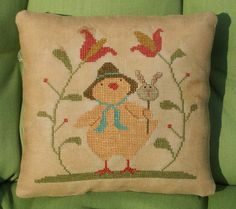 Cross Stitch Chick by Jack Wabbit Primitives