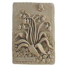 Lily Of The Valley Wall Plaque - 734