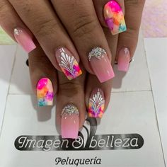 Lux Nails, Coffen Nails, Pretty Nail Designs, Toe Nail Designs, Gorgeous Nails, Pretty Nails, Vacation Nails, Nail Polish Art, Nail Decorations