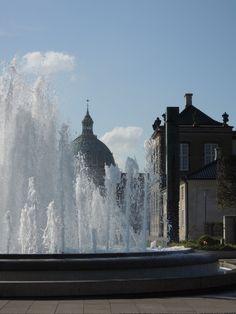The home of the Royal Danish family: Amalienborg, Copenhagen, Denmark