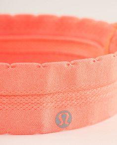 lululemon headband - super cute for pure barre