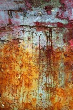 wall paint green and red grunge aged wall texture