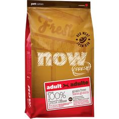 Now Fresh Grain Free Red Meat Adult Recipe Dog Food - 25lb * Learn more by visiting the image link. (This is an affiliate link and I receive a commission for the sales)