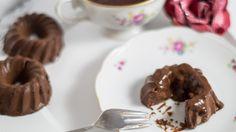 High protein chocolate custard