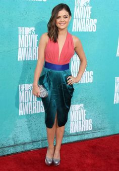 Lucy Hale MTV MOVIE AWARDS 2012