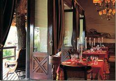 Sabi Sands, the center of the Kruger National Park at the Singita Ebony Lodge