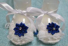 Le Gatte coi tacchi: Guida passo a passo scarpe neonata all'uncinetto.