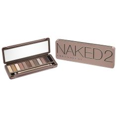 Naked2 Palette by Urban Decay (Official Site)  I use Naked 2 because 1 is more bronze tones, 3 is more rose tones and 2 is a taupe toned set.  Which is what works for my skin tone.  This is my go to palette when I need to actually do my make up!