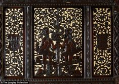 Proof? Jonathan Foyle, chief executive of World Monuments Fund Britain, has been trying to prove the artefact's historical roots since 2010. He said it was not made by Victorian revivalists because the headboard showed  Adam (Henry VII) and Eve (his wife) transmuted into Christ
