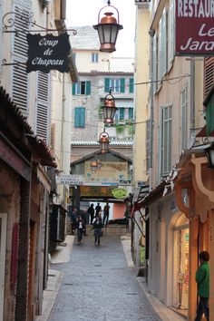 Rue Sade Antibes France