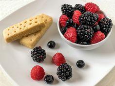 Merenda Frutti di Bosco e Biscotti al Burro