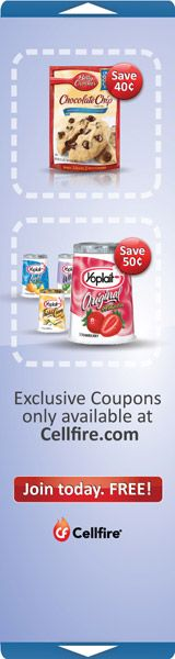 Cellfire ~ Free Digital Grocery Coupons