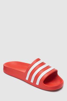 c8dbe90a4 Mens adidas Adilette Aqua - Grey