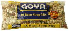 Goya 16 Bean Soup Mix: Amazon.com: Grocery & Gourmet Food