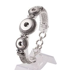 "Size: Fits 7.5"" with an additional 1"" extender Material: zinc alloy"