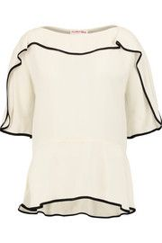 See by ChloéRuffled crepe blouse