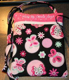 Run Around Bag by Lazy Girl Designs.