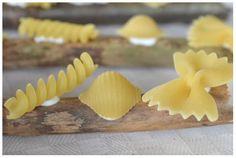 Skapligt Enkelt: Fjärilens livscykel i form av pasta