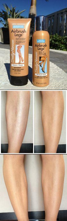 Sally Hansen Airbrush Legs-the spray vs. the new lotion