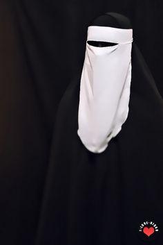 A5 | white niqab + black khimar | fazliana ardawi | Flickr