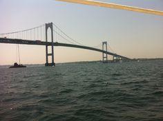 Newport Bridge - Narragansett Bay -