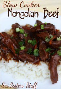 Must-Try Mongolian Beef | AllFreeSlowCookerRecipes.com