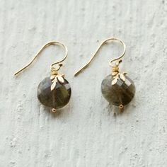 New Leaf Earrings in Spa+Accessories JEWELRY Earrings at Terrain