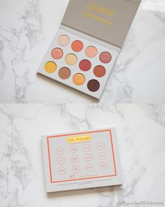 "ColourPop ""Yes,Please!"" Pressed Powder Shadow Palette Review & Swatches"