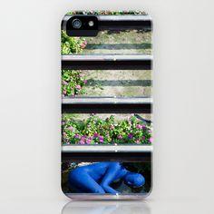 Blue man down iPhone & iPod Case