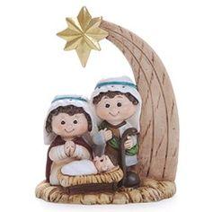 Nativity Crafts, Christmas Nativity, Christmas Fun, Christmas Decorations, Christmas Ornaments, Polymer Clay Christmas, Polymer Clay Crafts, Christmas Tree Festival, Wooden Toy Trucks