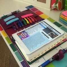 iPad mini and Filofax | A Bowl Full Of Lemons