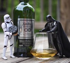 Photographer combines his love for the stormtrooper and whiskey