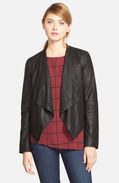 cupcakes and cashmere 'Canoga' Leather Jacket, Nordstrom | $420
