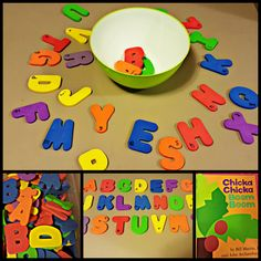 Chicka Chicka Find Your Letters – Hands-On Teaching Ideas! A fun letter recognition activity for kindergarten! Alphabet Activities, Language Activities, Literacy Activities, Preschool Alphabet, Preschool Learning, Letter Recognition Kindergarten, Chicka Chicka Boom Boom, Letter Find, Cool Lettering