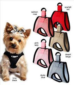 8f45cc5fefb Amazon.com : Ultra USA Choke-Free Dog Harness - Limo Black - XS (10