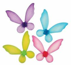 New Costume Accessory Child Fairy Wings Purple with Shimmer Accents | eBay