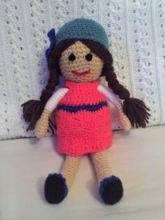 Handmade crochet doll Crochet Toys, Dolls, Hats, Handmade, Ebay, Baby Dolls, Hand Made, Hat, Puppet