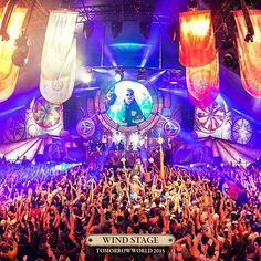 """""""Discover the #TomorrowWorld 2015 stage and Prepare for a magical adventure 5th is Wind stage #Tomorrowland #edm #edmfamily #ravefamily #musicfamily #music…"""""""