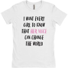 Feminist T Shirt, Women's Rights Shirt, Feminism Shirt, Equal Rights... (€18) ❤ liked on Polyvore featuring tops, t-shirts, long tops, tee-shirt, sleeve shirt, long length shirts and a line t shirt