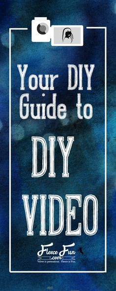 Your own DIY Guide to DIY Video.  I really enjoyed talking to you at SNAP!  You can find my YouTube Channel here – diy pin if you have a channel let me know so I can subscribe!  Here is a great guide for those wanting to make a video tutorial.