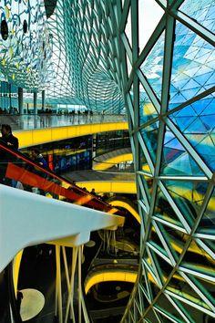 MyZeil Shopping Mall, Frankfurt, Germany by  Massimiliano Fuksas Architect