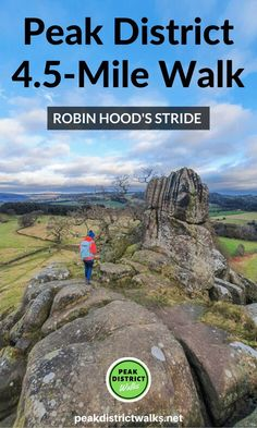 A wonderful walk in the Derbyshire Peak District - Robin Hood's Stride Walk + Bradford Dale From Elton Places To Travel, Places To Go, Travel Destinations, Holiday Destinations, Peak District England, Hiking Routes, Hiking Trails, Hiking Europe, Travel Guides