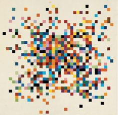 more Ellsworth Kelly - I like that this has more quiet, more negative space around the colors