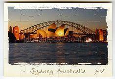 Sydney Australia        Jigsaw-Card 176
