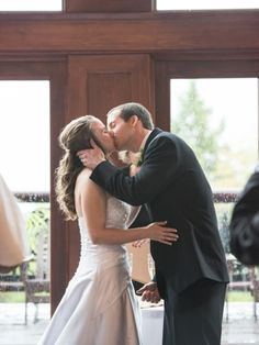 You May Kiss the Bride: Photo by Kristina O'Brien Photography via Heather Renee Celebrations