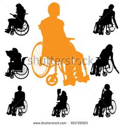 Woman In Wheelchair Isolated Stock Photos, Images, & Pictures | Shutterstock