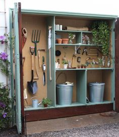 Shed shelving ideas garden shed storage ideas how to organize a mini garden storage shed garden . shed shelving ideas shed storage Garden Tool Shed, Garden Storage Shed, Diy Shed, Small Garden Storage Ideas, Backyard Sheds, Outdoor Sheds, Shed Shelving, Shelving Ideas, Storage Shed Organization